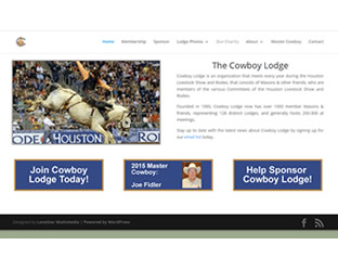 LoneStar Multimedia Web Design: www.cowboylodge.org