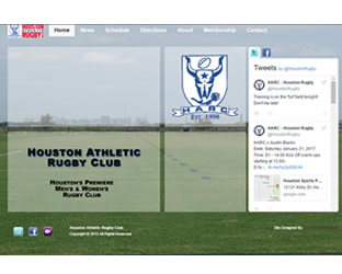 LoneStar Multimedia Web Design: www.houstonrugby.org