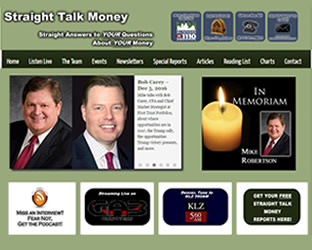 LoneStar Multimedia Web Design: www.straighttalkmoney.com Screenshot